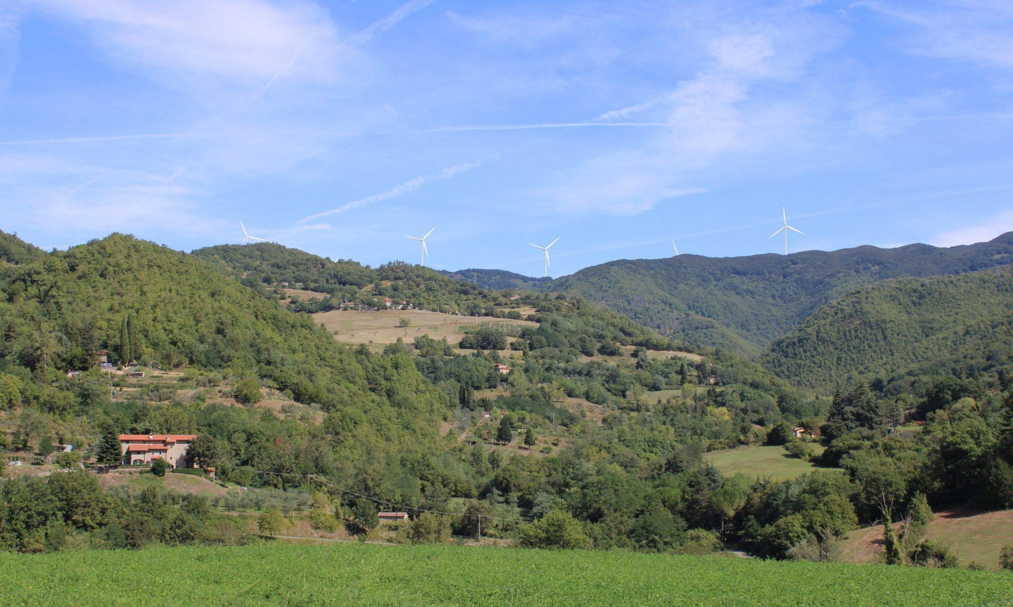 Progetto Eolico Monte Giogo di Villore